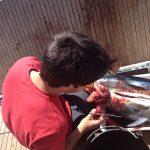 Pescando en las colonias